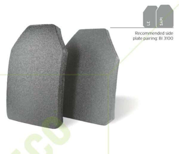 HESCO 3611C - 600 Series Armor Level 3+ Stand Alone Plate - Polyurea Coated